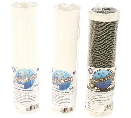 Комплект сменных картриджей Aquafilter стандарт FP3-CRT 506 в Нижнем Новгороде - купить, цены, отзывы, характеристики, фото, инструкция