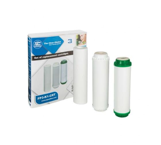 Комплект сменных картриджей Aquafilter умягчение FP3-K1-CRT 507 - цена, отзывы, характеристики, фото - купить в Москве и РФ