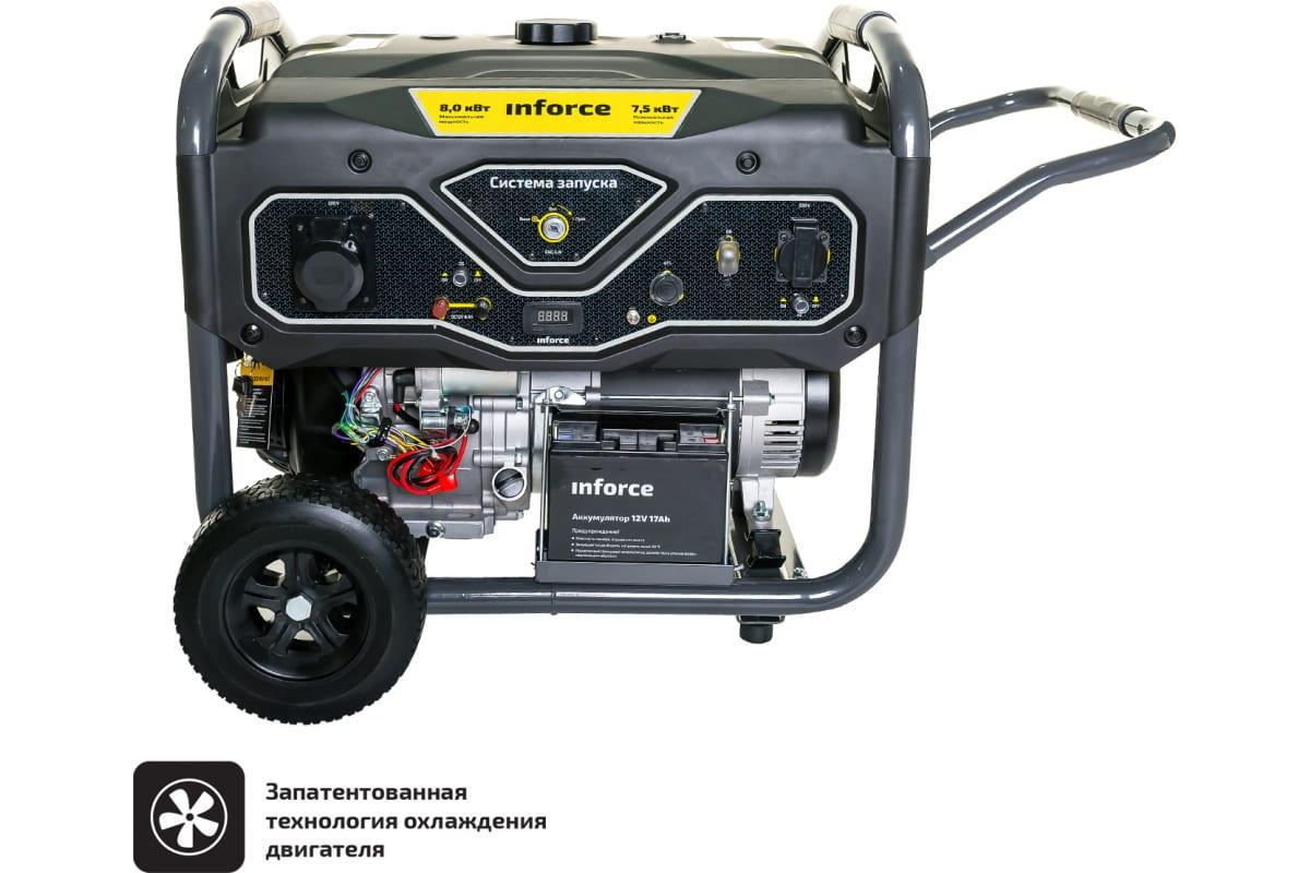 Фото бензинового генератора Inforce GL 8000 04-03-16
