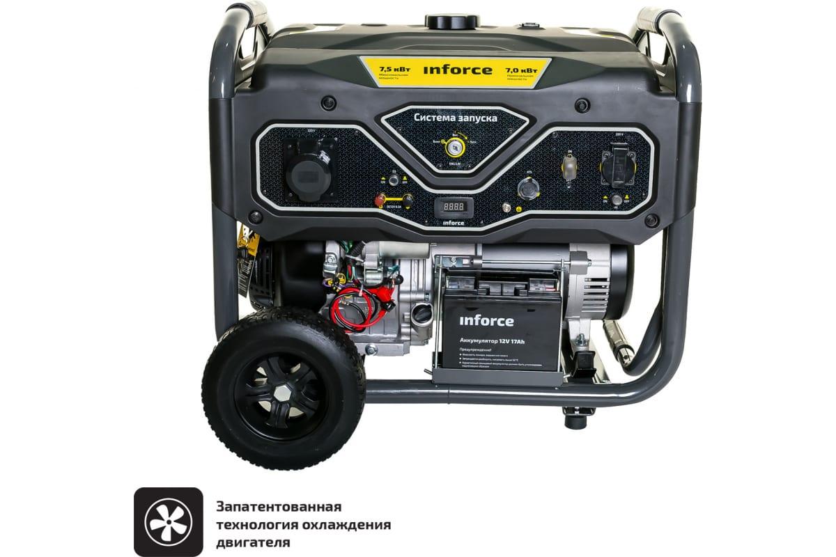 Фото бензинового генератора Inforce GL 7500 04-03-17