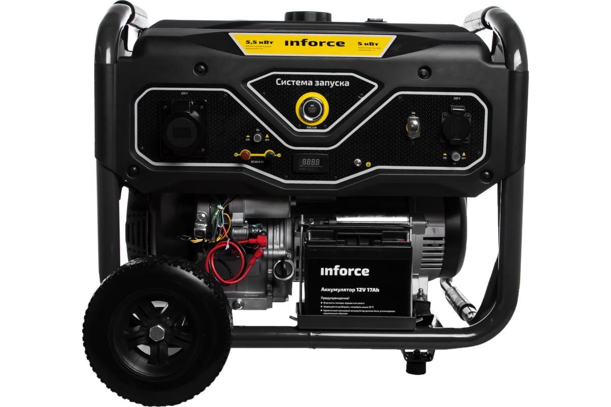 Фото бензинового генератора Inforce GL 5500 04-03-21
