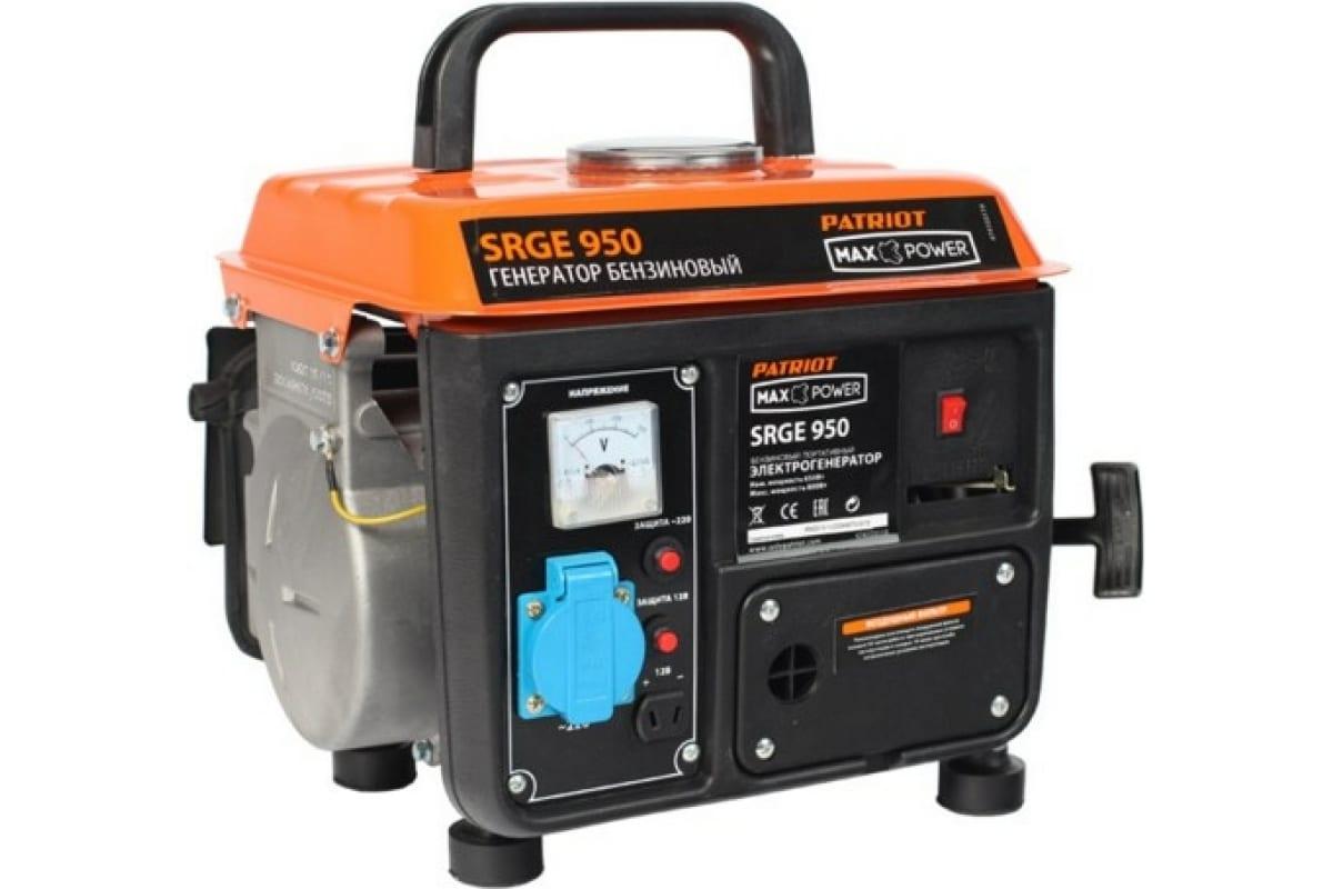 Фото бензинового генератора PATRIOT Max Power SRGE 950 474103119