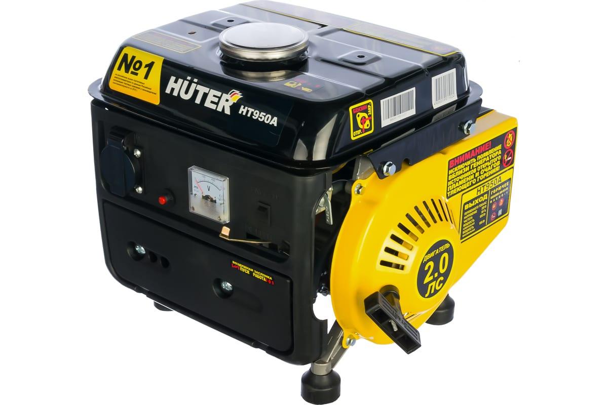 Фото бензинового генератора Huter HT950A