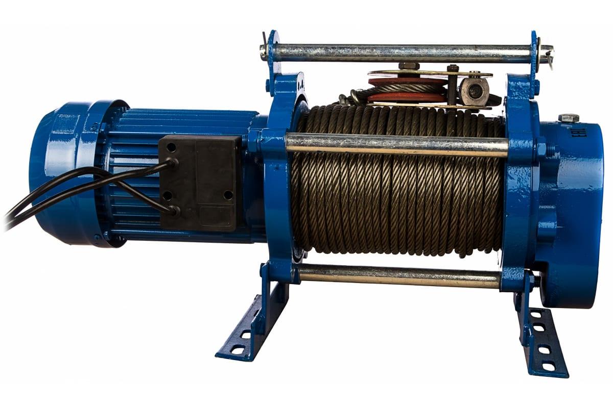 Фото электрической лебедки EURO-LIFT KCD 300/600кг, 70/35м, U=220v, P1, 50HZ 0019834