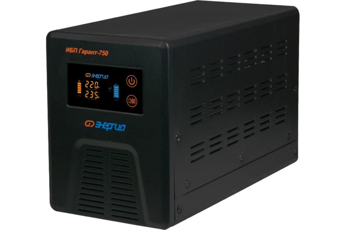 Фото ИБП Энергия Гарант- 750 12В 750 ВА Е0201-0039