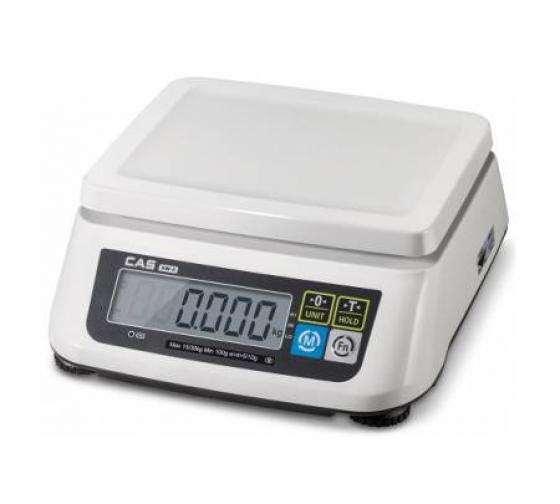 Настольные весы CAS SWN-6 с аккумулятором 88-00002104 1