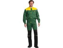 Костюм ГК Спецобъединение КМ-10 ЛЮКС зеленый-желтый