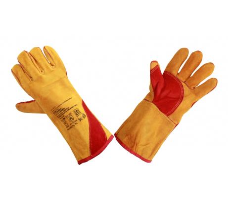 Спилковые перчатки-краги Элит-Профи Сиберия, Кевлар А0210 в Нижнем Новгороде - купить, цены, отзывы, характеристики, фото, инструкция