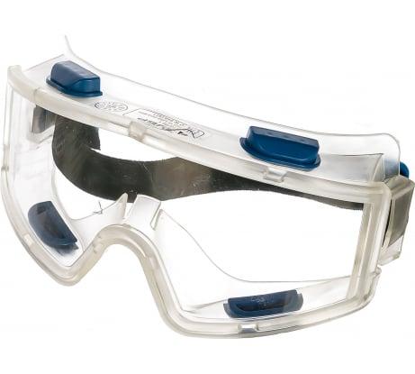 Фото защитных очков Зубр ЭКСПЕРТ закрытого типа, панорамные с непрямой вентиляцией, линза поликарбонатная 110230
