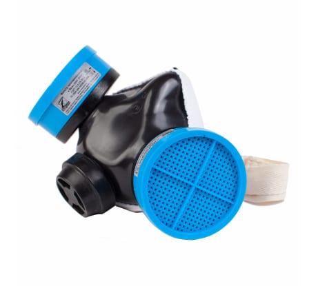 Изолирующая полумаска со сменным противогазовым фильтром марки К1 Бриз СИЗОД фильтрующее Бриз-2201 РПГ 500410005 в Челябинске - купить, цены, отзывы, характеристики, фото, инструкция