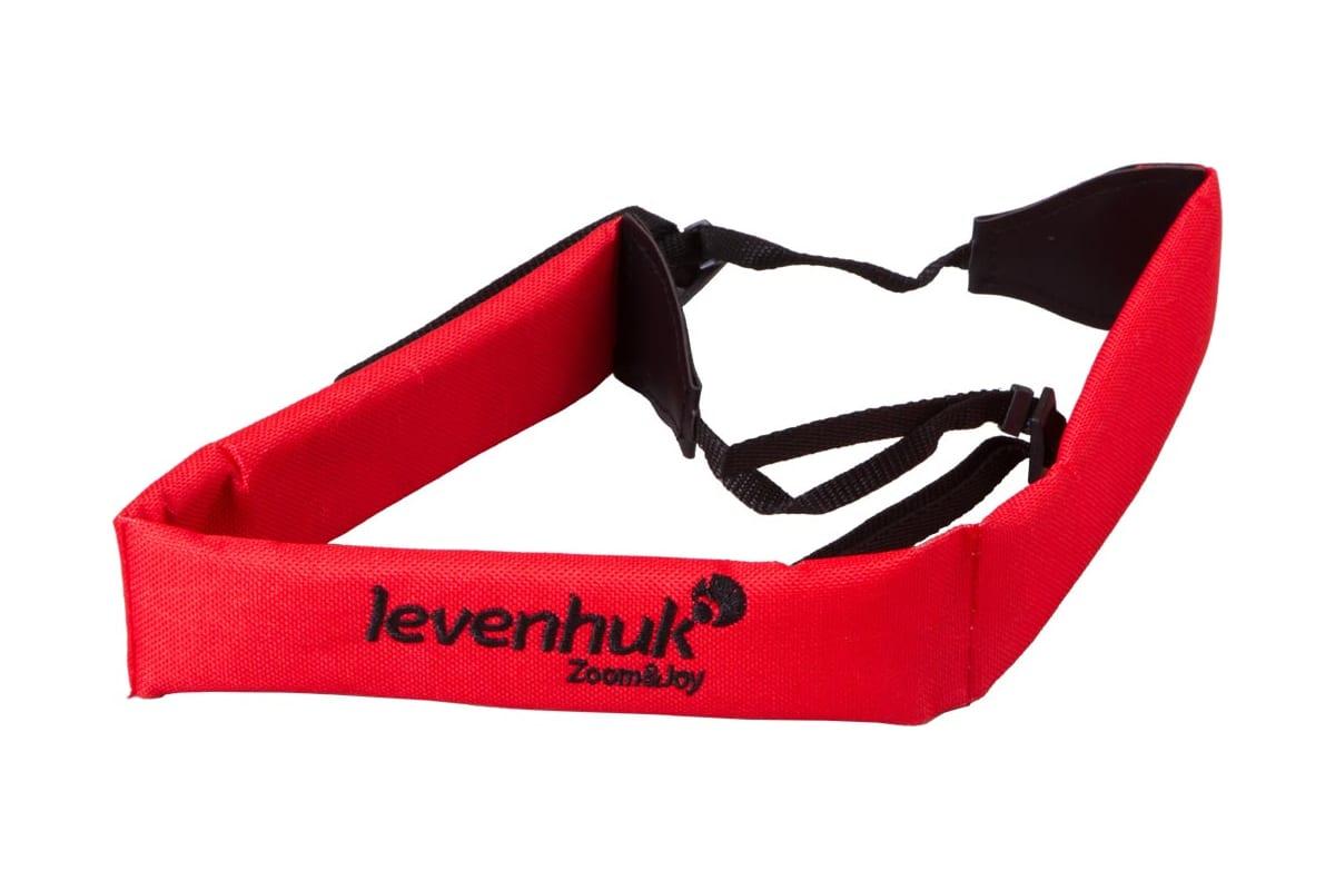 Фото плавающего ремня для биноклей и фототехники Levenhuk FS10 71148