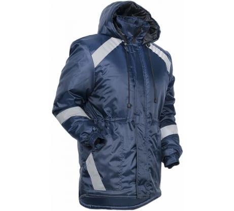 d5794503940 Фото удлиненной зимней куртки Факел Прогресс Т.синий  56-58  182-