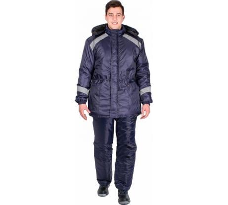 8d09b1e5d84 Фото удлиненной зимней куртки Факел Прогресс Т.синий  52-54  182-
