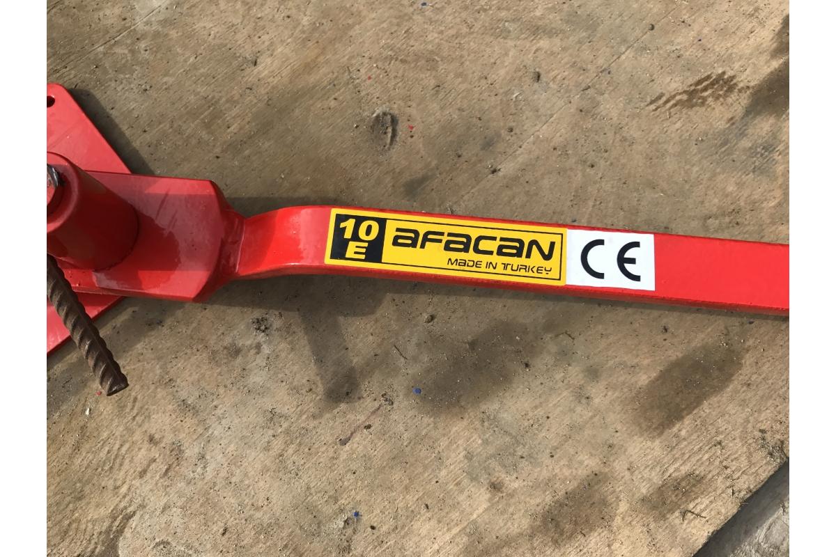 Ручной станок для гибки арматуры Afacan 10Е  4