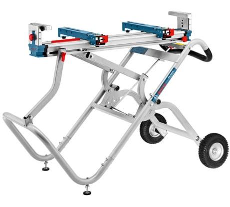 Фото передвижного складного стола для пил Bosch GTA 2500 W 0601B12100