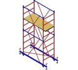 Вышка-тура Мега Мега-1М Н=6.3м 905
