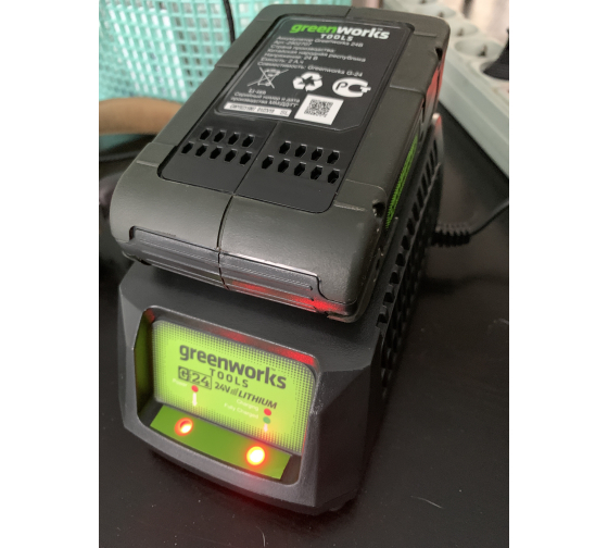 Аккумулятор (2 А*ч; 24 В) G24B2 Greenworks 2902707 5
