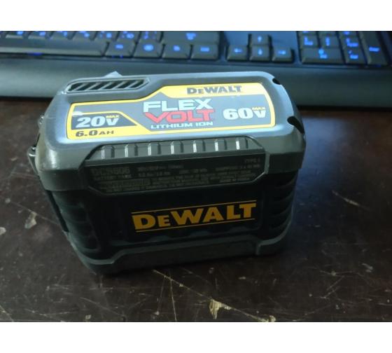 Аккумулятор (54/18 В; 6.0 А*ч; Li-Ion) DEWALT DCB546 10