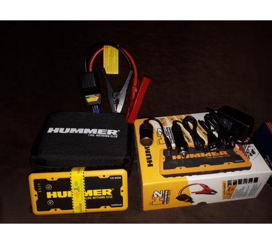 Пусковое устройство + Power Bank + LED фонарь HUMMER Н2 HMR02 4